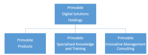 Primobile Organisational Structure